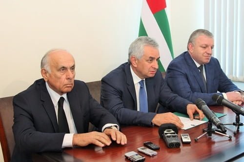Photo of New Abkhaz Government Head Appointed