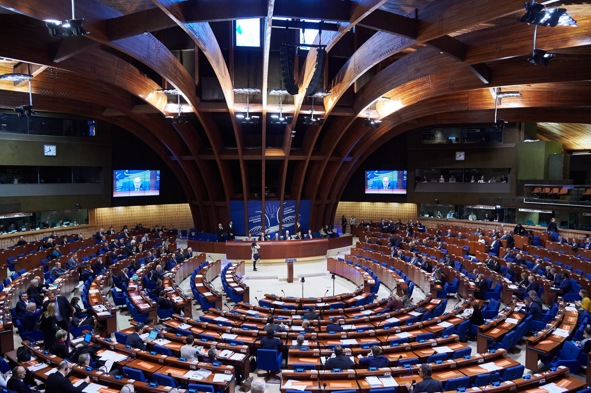 Photo of PACE Co-rapporteurs Call on Parties to Enter Parliament