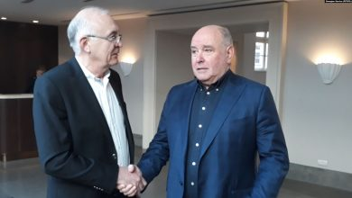 Photo of Abashidze, Karasin Talk Online, Spark Protest in Tbilisi