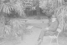 Photo of იაკობ ნიკოლაძემ ნოე ჟორდანიას ქანდაკების შექმნა დაიწყო