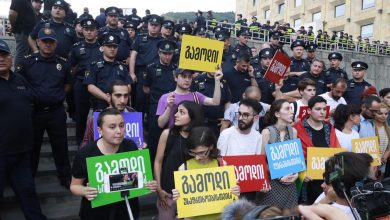 Photo of Police detain nine as radical groups confront LGBTQI activists