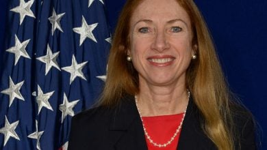 Photo of U.S. Ambassador Degnan Comments on Arrival to Georgia
