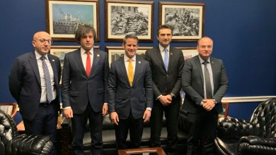 Photo of Georgian MPs Conclude United States Visit