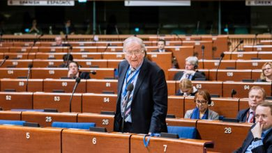 Photo of Georgia in PACE Resolution
