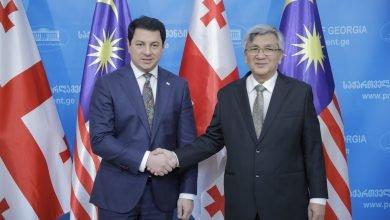 Photo of Georgian, Malaysian Speakers Pledge to Deepen Ties