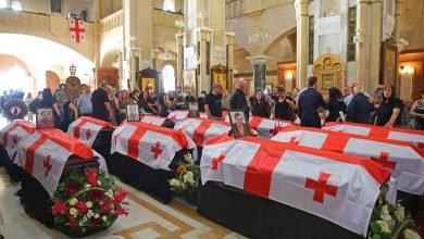 Photo of Состоялась гражданская панихида 13 человек, погибших в ходе вооруженного конфликта в Абхазии
