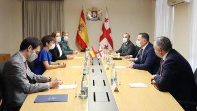 Photo of Georgian Interior Minister Meets Spanish Civil Guard Director