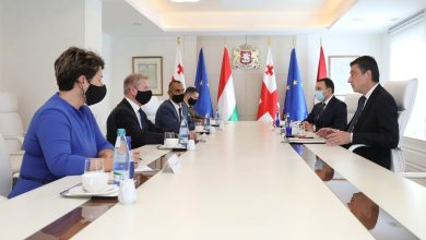 Photo of Hungarian Defense Minister Visits Tbilisi