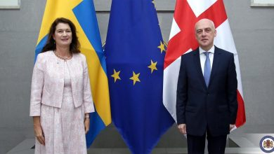 Photo of Swedish Foreign Minister Visits Georgia