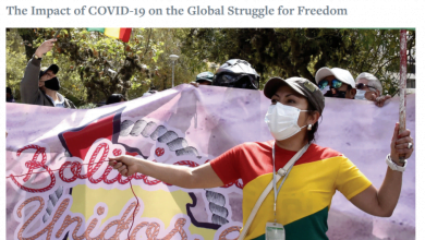 Photo of Georgia in Freedom House's COVID-19 Report