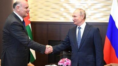 Photo of «Президент» оккупированной Абхазии встретился с Владимиром Путиным в Сочи