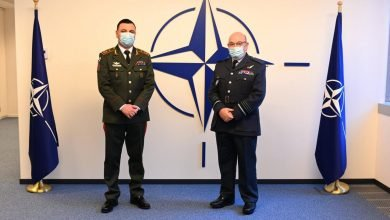Photo of Georgian Defense Forces Chief Visits Brussels, Mons