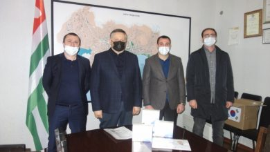 Photo of S. Korean Nonprofit Donates COVID-19 Antibody Tests to Abkhazia