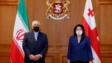 Photo of Iranian Foreign Minister Visits Tbilisi