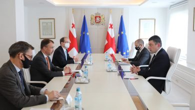 Photo of EU Special Representative Klaar Visits Tbilisi