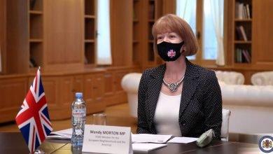 Photo of UK Minister Wendy Morton Visits Tbilisi
