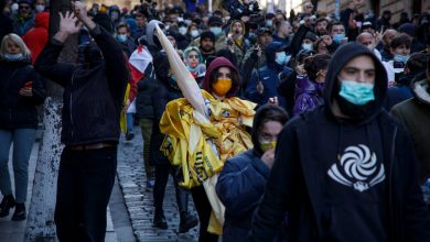 Photo of Фоторепортаж: Акция протеста оппозиции после ареста Ники Мелия