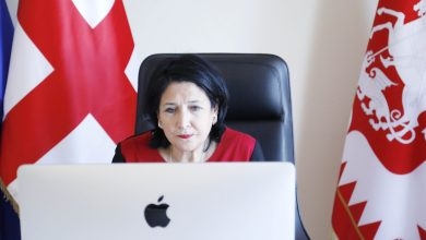 Photo of Саломе Зурабишвили поговорила с президентом Литвы в видео-формате