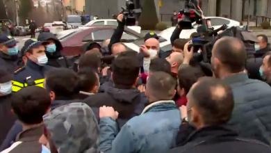 Photo of 20 активистов оппозиции были задержаны во время противостояния у Парламента