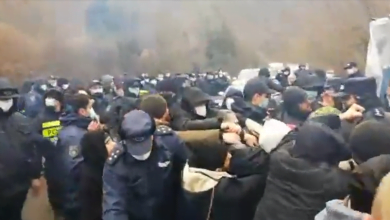 Photo of Locals, Police Clash Again over HPP Construction in Imereti