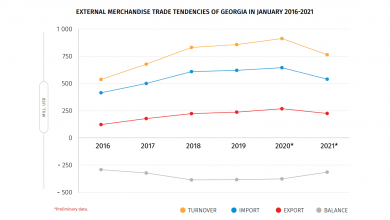 Photo of Georgia's Foreign Trade in January 2021 (Express Data)